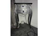 Shabby chic dressing table and 2 bedside tables.