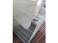 Large cage - suitable for rats, degus, chinchilas etc. Good condition.
