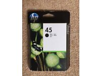 HP 45 original black ink cartridge