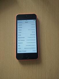 iphone 5c 16GB pink locked to EE