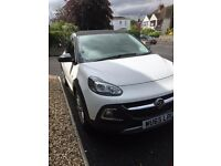 White Vauxhall Adam Rocks Air Car - Like New Condition