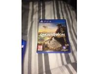 PS4 tom clancy's ghost wildland game