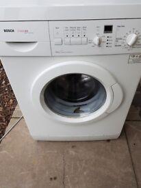 Bosch classix excell washing machine