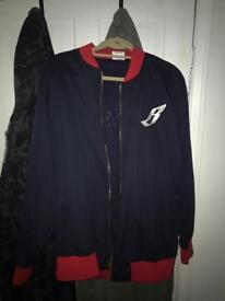 Billionaire boys club varsity jacket size-L