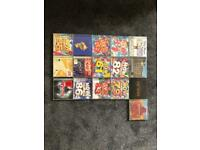 16 CD's