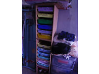 Office/school storage drawers