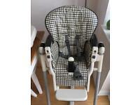Wheeled Baby highchair