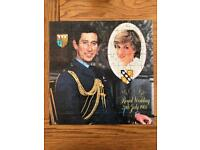 Royal Wedding Jigsaw - Charles and Diana - 1981