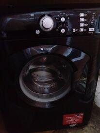 Washing machine hotpoint 7kg, 1400 rpm black