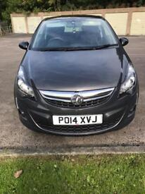 Vauxhall corsa 1.2 limited edition.
