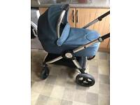 Mamas & papas Ocarro pram with car seat & isofix