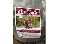 Dog Food - Millies Wolfheart Kibble - Turkey