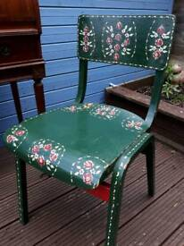 Barge ware style chair