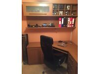 BARGAIN - Stunning Hammonds Home Office Set (Desk + Shelves)