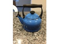 As new Le Creuset Stove top whistling kettle