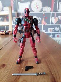 """Marvel Legends figure 6"""" Deadpool Series 4 Toybiz"""