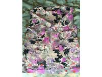 Floral print ladies fashion top