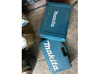 Makita 18v drill set boxed 3 batteries 3 drills