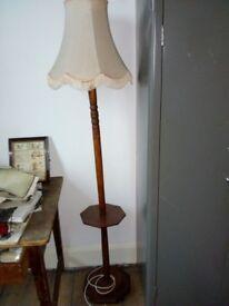 Wooden Standard Lamp