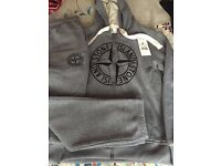 new with tags stone island tracksuit hoody small