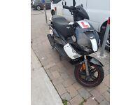 lexmoto diablo 125cc moped scooter motorbike