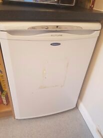 Hotpoint white under the counter freezer for sale