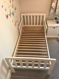 White Toddler Bed for sale