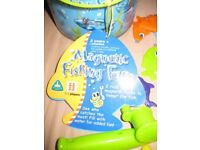 ELC MAGNETIC FISH GAME complete +free puzzles (age 3+) PERFECT CONDITION - suit boy or girl REDUCED
