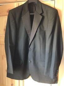 44R Black Tuxedo Jacket