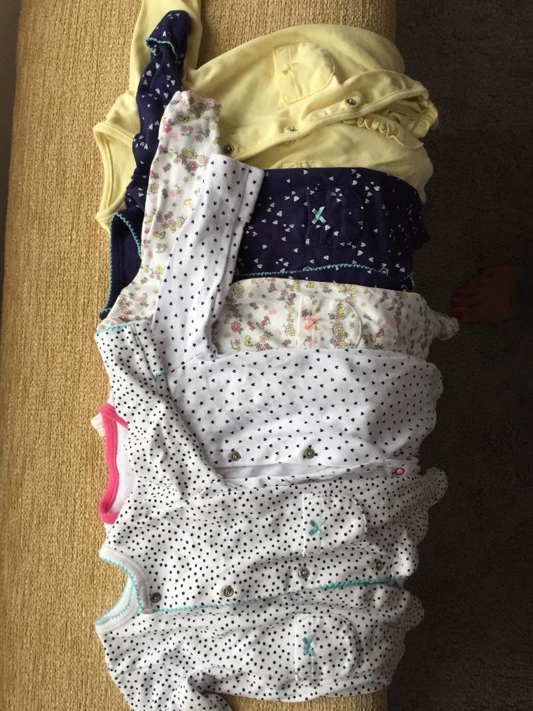 Bundle girls baby clothes