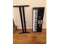 Yamaha keyboard YPT-220 with stand -perfect working order