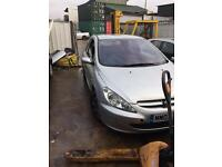 2003 Peugeot 307 2.0 hdi breaking for spares