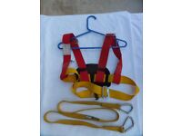 Plastimo Child Safety Harness with Crewsaver Line