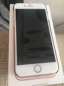 Brand new iPhone 7 rose gold 32bg