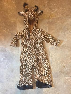 Authentic Kids~ GIRAFFE ~ Halloween Costume ~  Child  3T ~ NWT