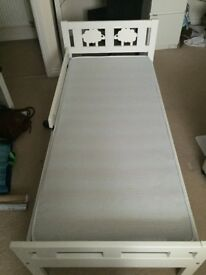 Ikea Children's bed and foam mattres for sale