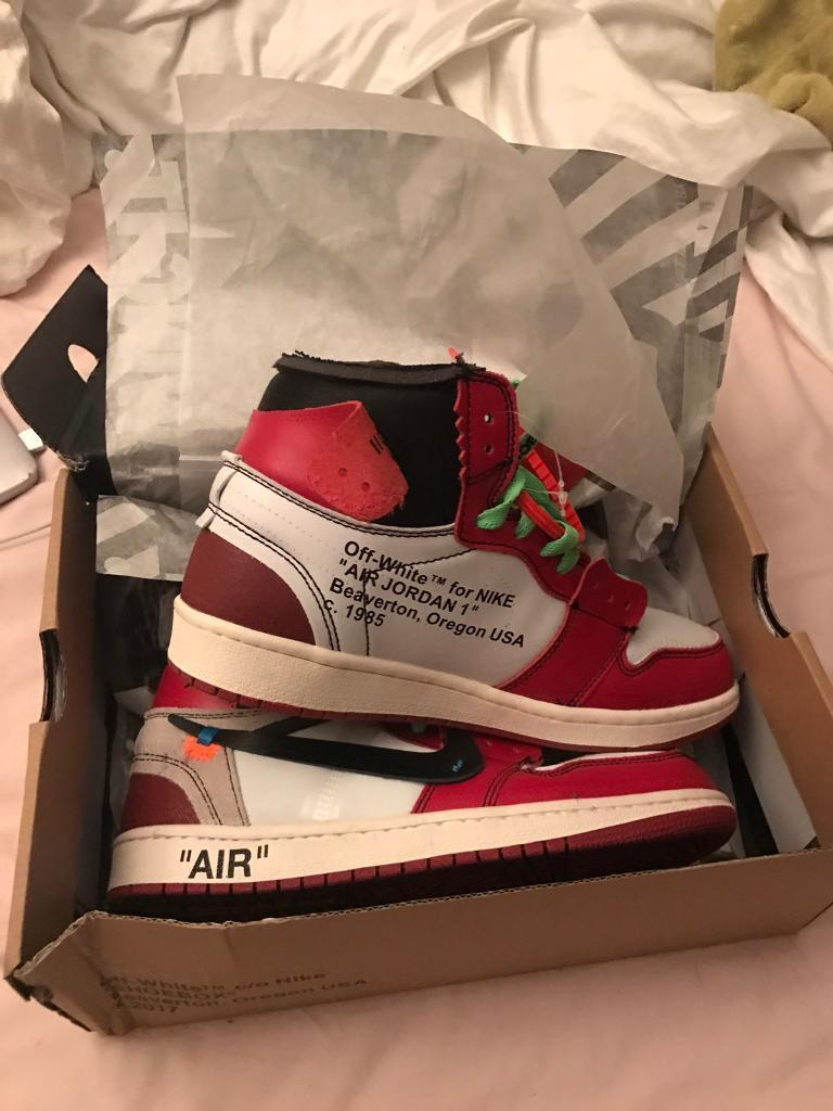 Earls Court, London £200.00. Images; Map. Off White x Jordan Nike