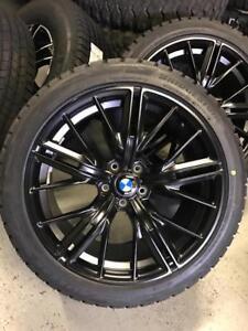 20 INCH BMW REPLICA WHEELS + 275 / 40 R20 WINTER TIRES -- PRE BOOKING