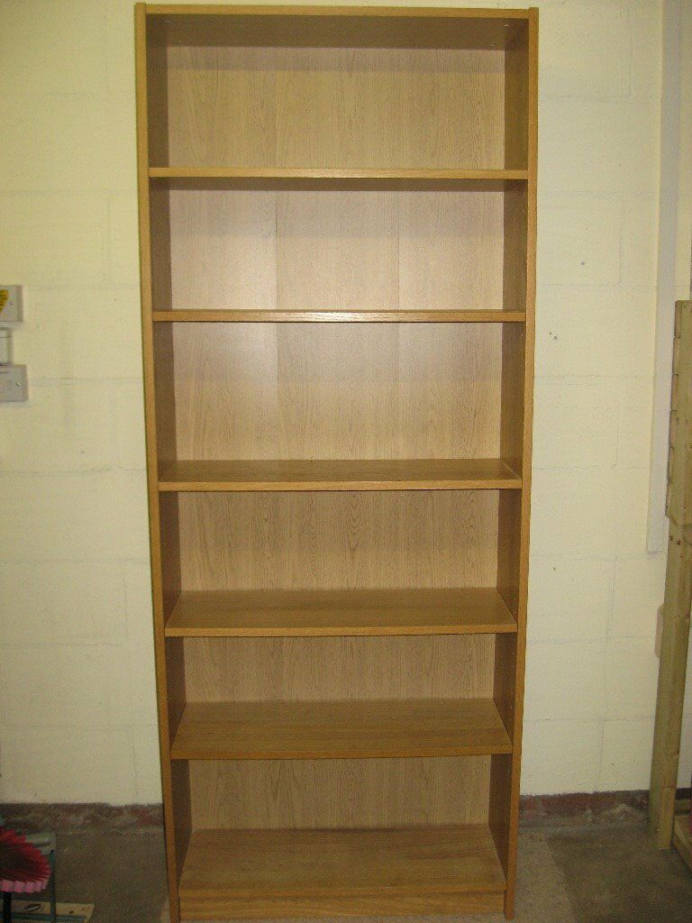 Ikea Billy Bookcase Light Oak