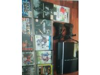 PS3 40gb with two controllers and games