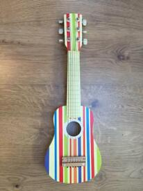 Lelin childrens striped guitar