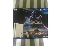 PS4 brand new basically and pad, all in perfect working conditions. £300
