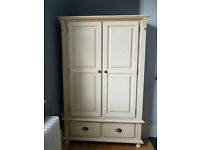 Childrens bedroom set - First bed/cot and wardrobe combination
