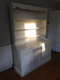 Painted white pine dresser