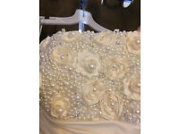 Alfred Angelo Diamond White Wedding Dress Size 16 1 Owner from New