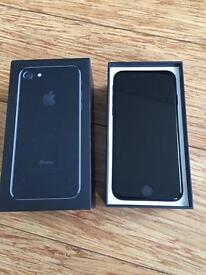 New iPhone 7 128gb Jet Black Unlocked!