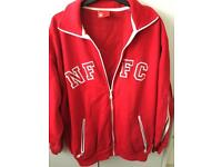 Mens Large NFFC zip up top