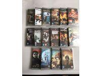 PSP Films (UMD Videos) 16 Movies Brand New In Packaging