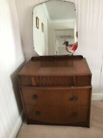 Shabby Chick 1950's Bedroom Suite
