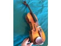 Handmade Full Size Violin, Guarneri 1742 Copy, very nice sound!